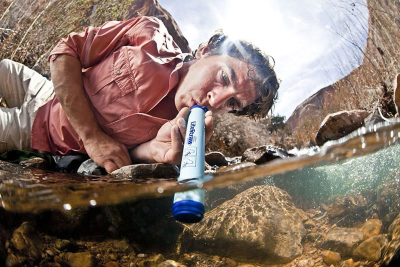 07 LifeStraw Personal Water Filter