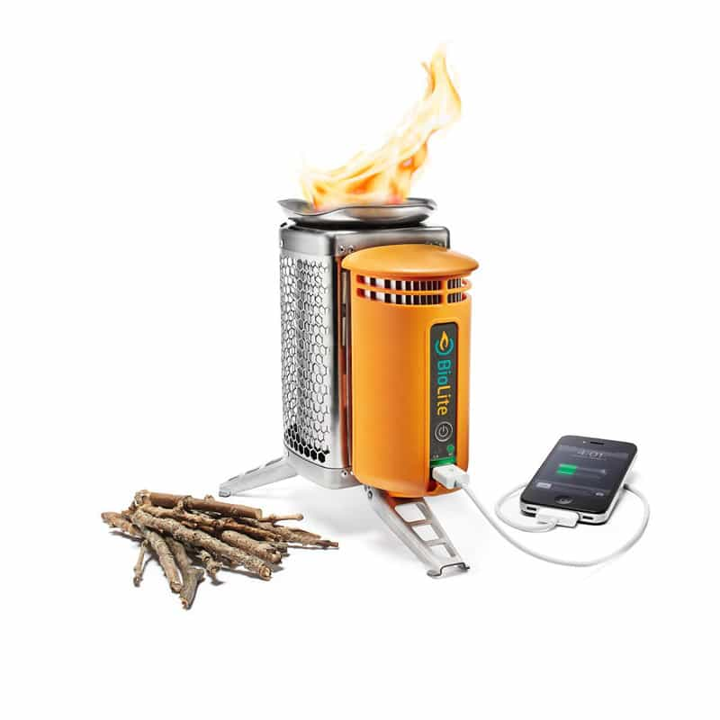 09 BioLite Wood Burning Campstove