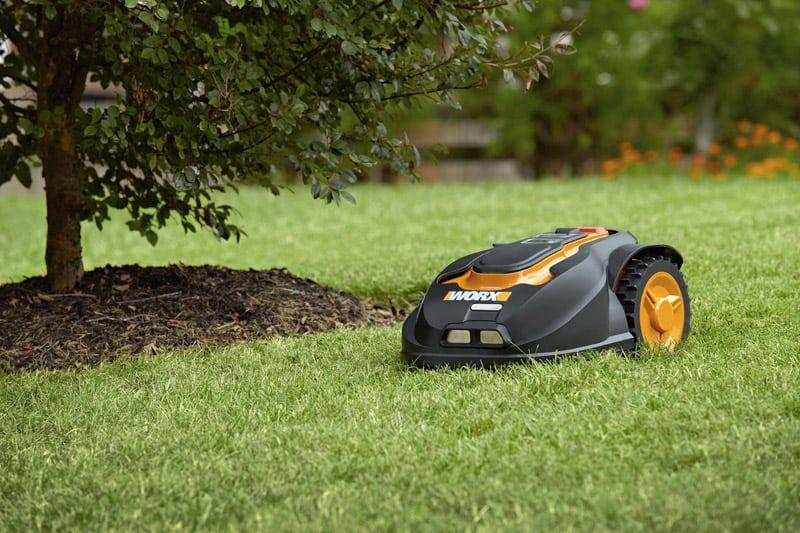 13 WORX Landroid Robotic Lawn Mower, 28-volt WG794
