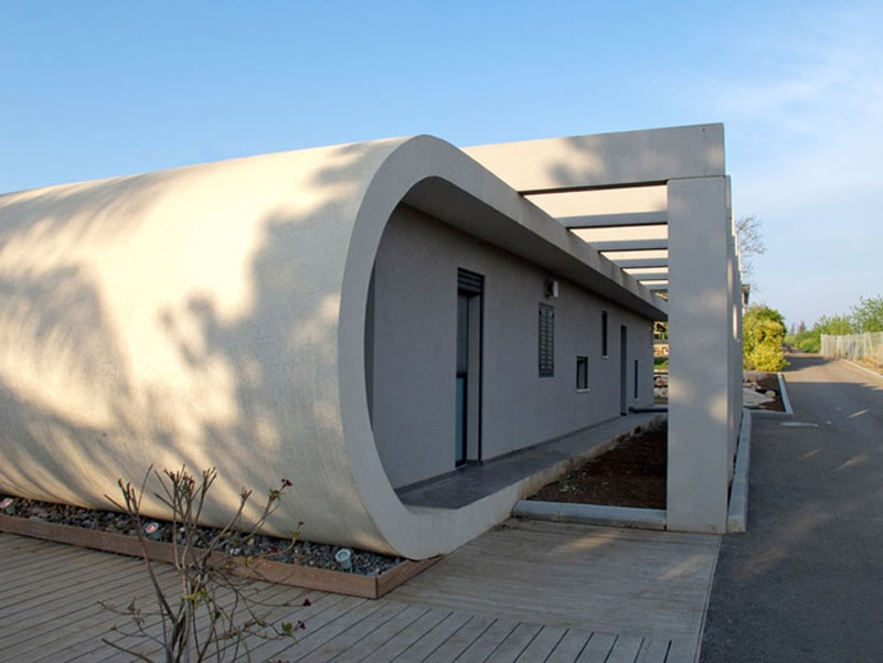 Beam House by Uricohen in Arbel, Israel (1)