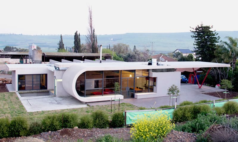 Beam House by Uricohen in Arbel, Israel (3)