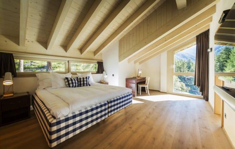 5 christmas luxury ski chalets in europe for Boutique hotel zermatt