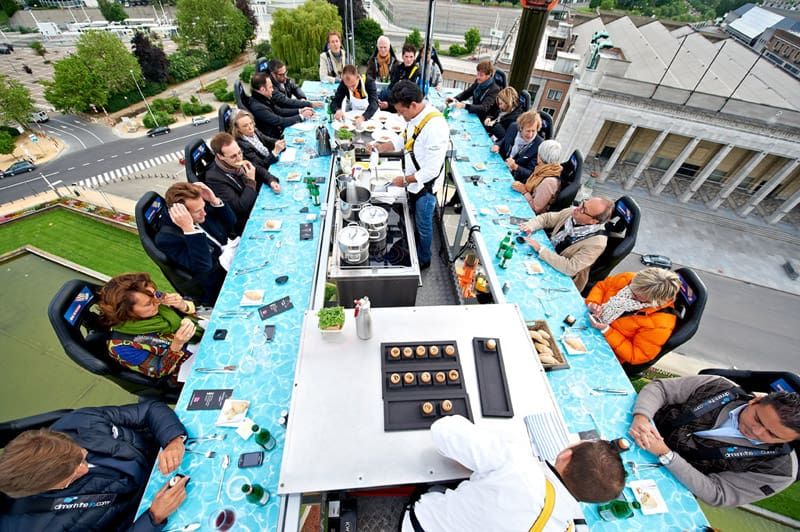 Dinner In The Sky An Unforgettable Experience - Dinner in the sky an unforgettable experience