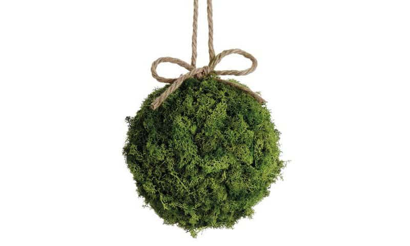 Preserved Reindeer Moss Ball Green