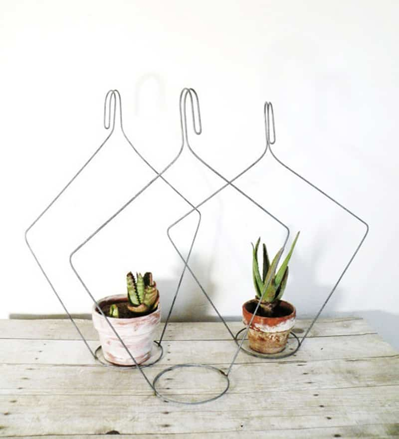 How To Recycle Wood Or Old Wire Clothes Hangers