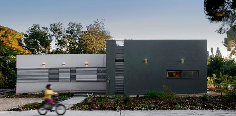 Simplicity And Clarity of Form in A Modern House From Israel (2)