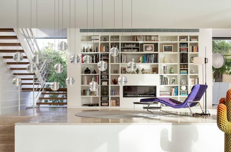 TV House A Modern Family House in Tel Aviv, Israel-designrulz (2)