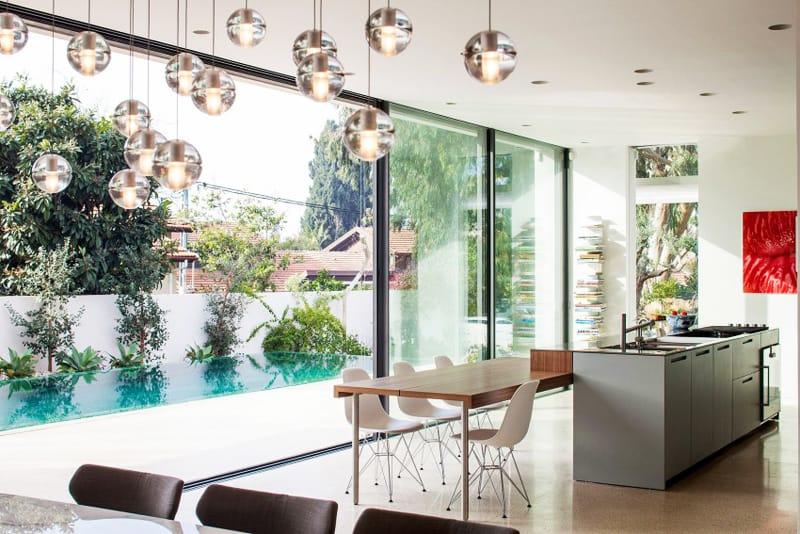 TV House A Modern Family House in Tel Aviv, Israel-designrulz (3)