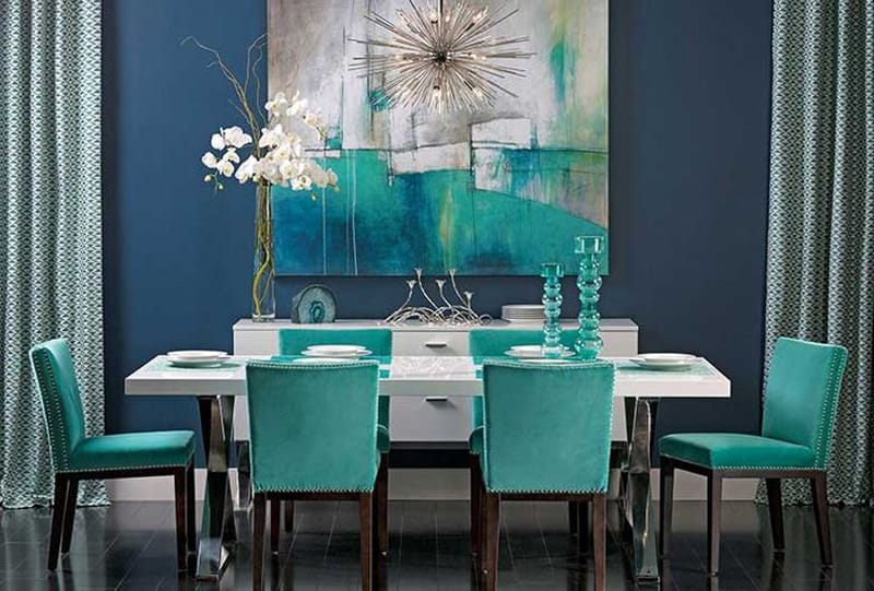 Colors of Nature: 22 Turquoise Interior Design Ideas