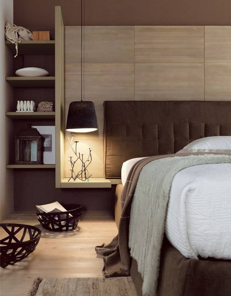 20 modern contemporary masculine bedroom designs. Black Bedroom Furniture Sets. Home Design Ideas