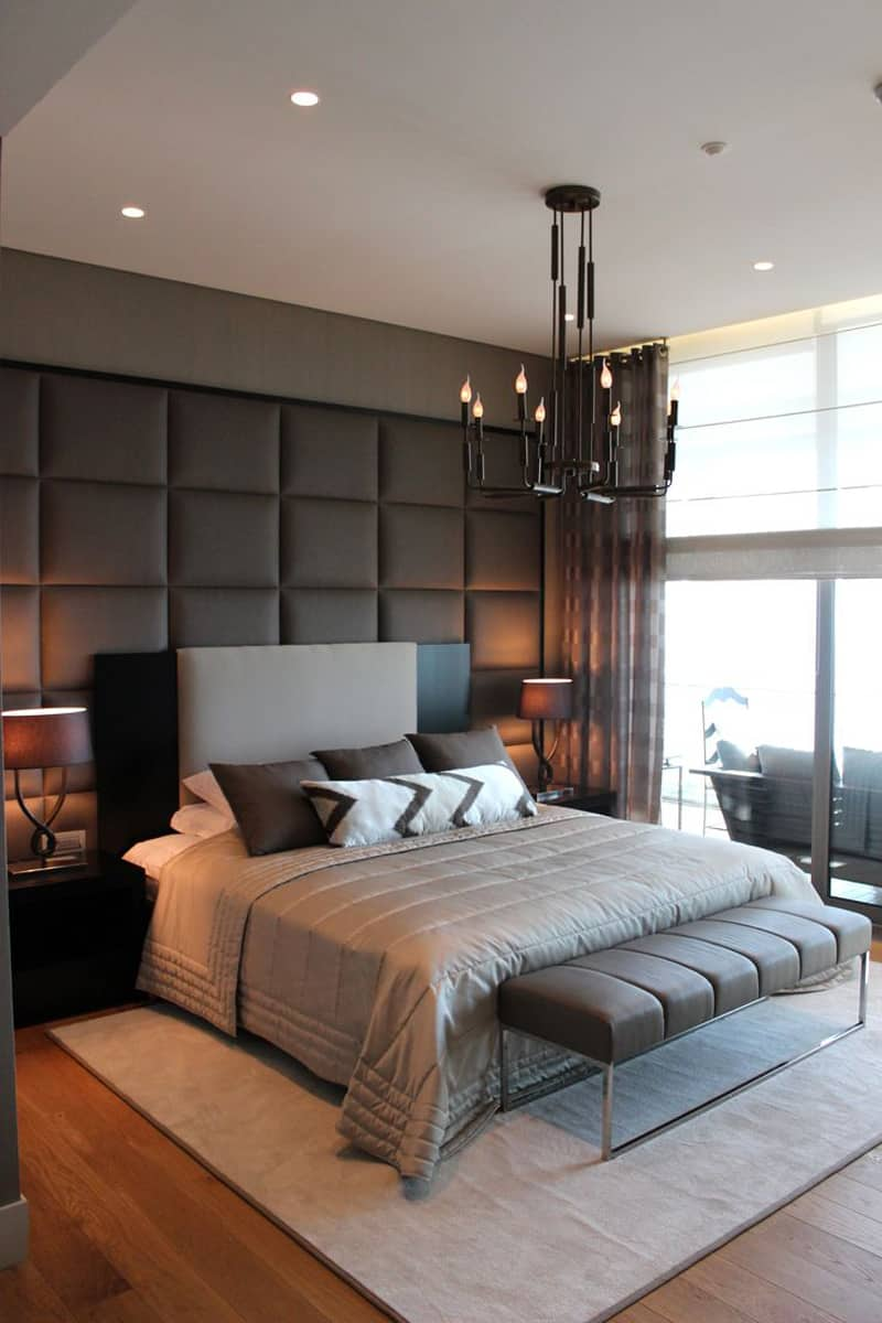 20 Modern Contemporary Masculine Bedroom Designs on Room Decor Pictures  id=11128