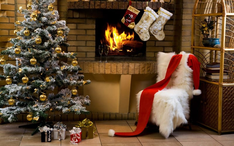 christmas fireplace-designrulz (1)