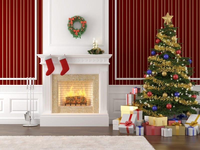 christmas fireplace-designrulz (2)