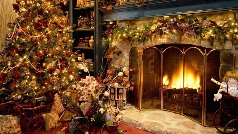 christmas fireplace-designrulz (6)