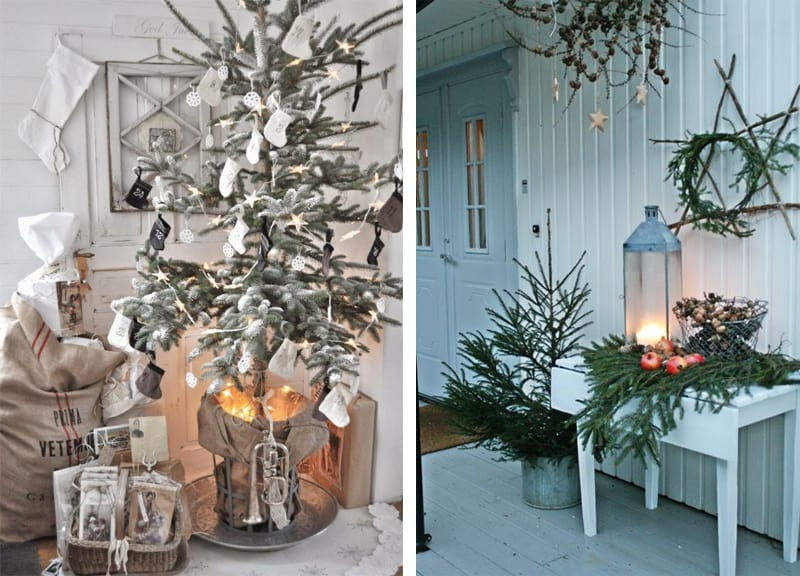 50 inspiring scandinavian christmas decorating ideas for Idee deco mural