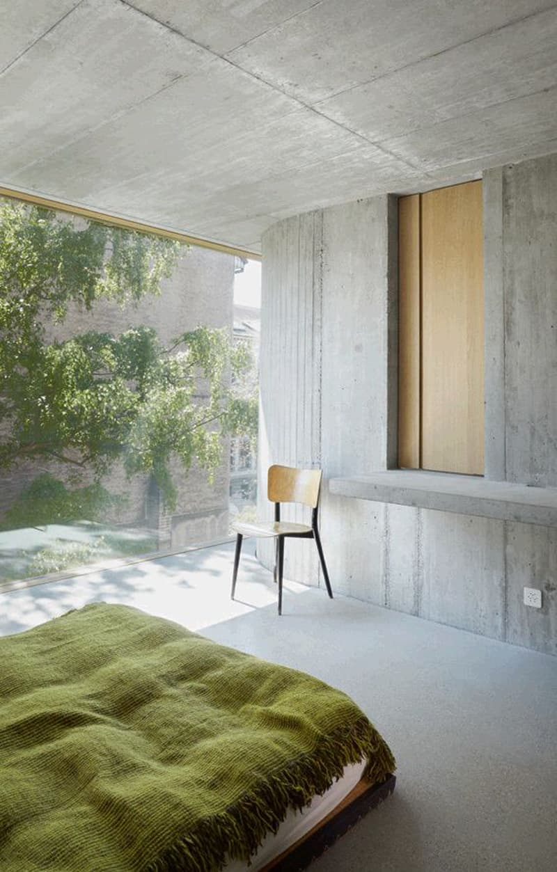 concrete bedroom-designrulz (11)