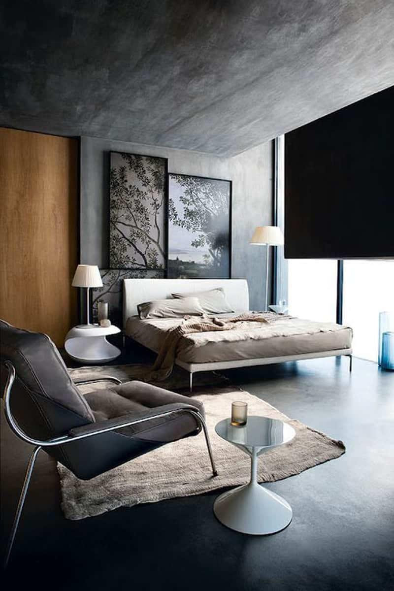 concrete bedroom-designrulz (15)