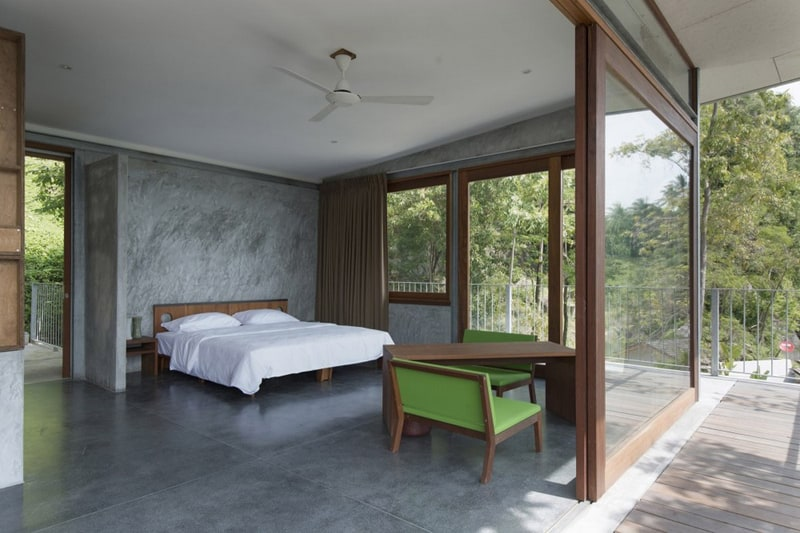 concrete bedroom-designrulz (2)