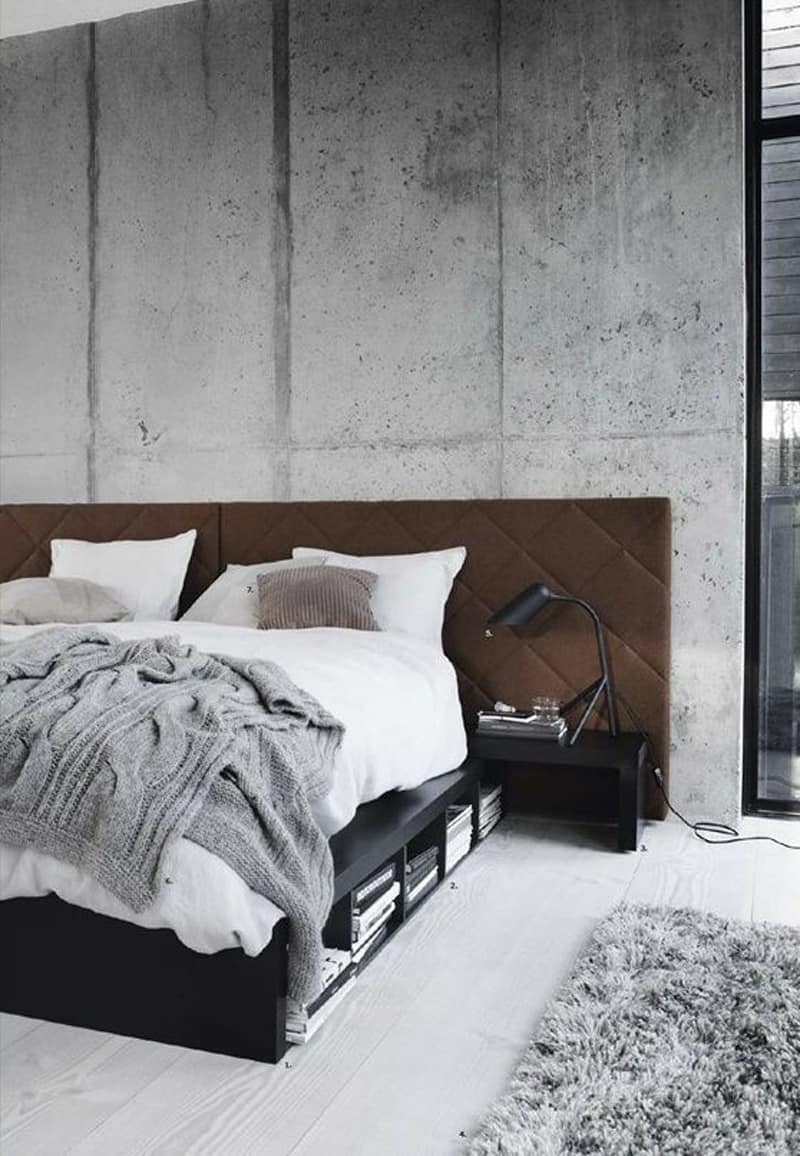 concrete bedroom-designrulz (7)