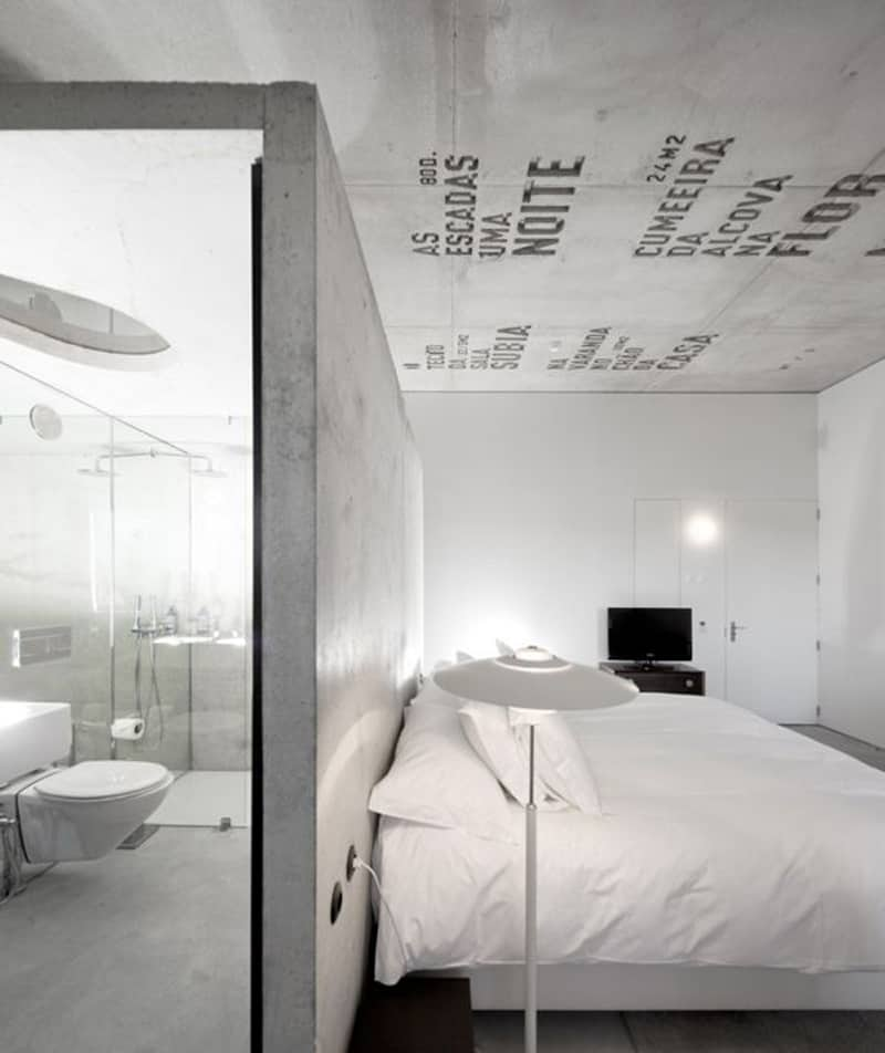 Indian Interior Design Ideas For Dramatic Warm Atmosphere: 15 Examples Of Amazing Concrete Bedroom Walls