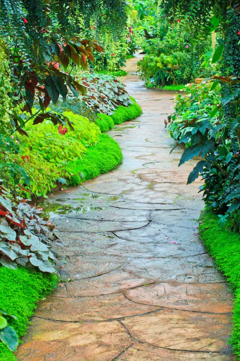35 Garden Paths That Take Joy in the Journey on Backyard Patio Landscaping id=18606