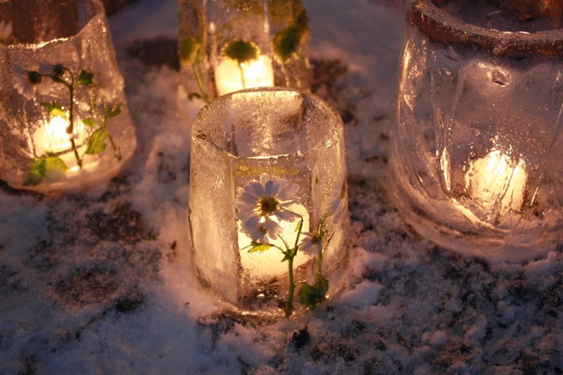 How To Make Ice Lanterns For Under 5