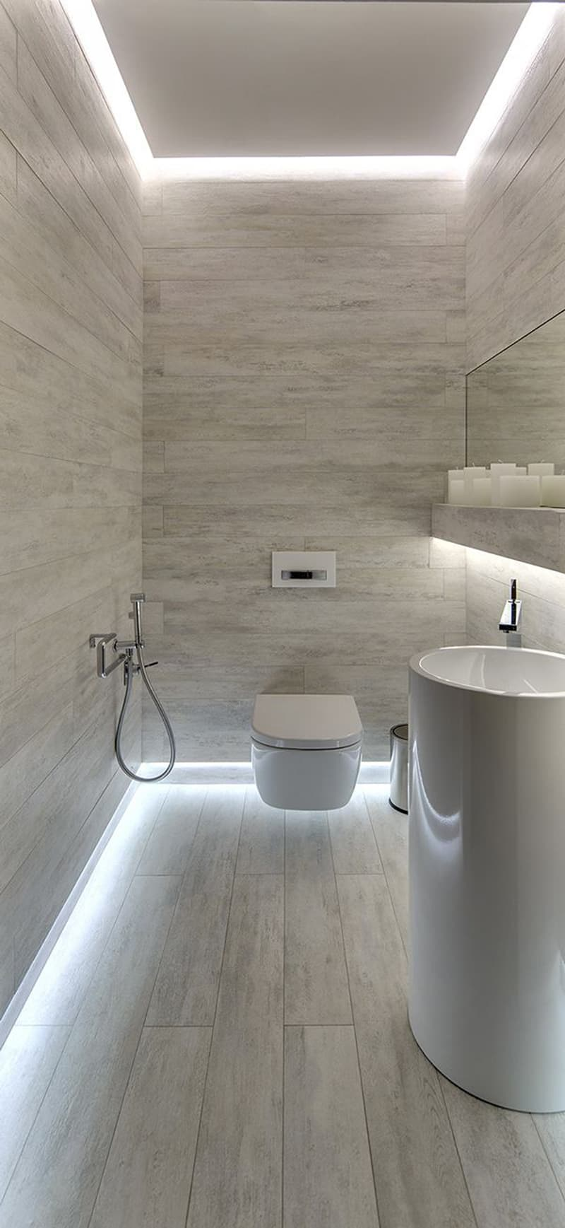 How to light your bathroom right led light bathroom designrulz 29 aloadofball