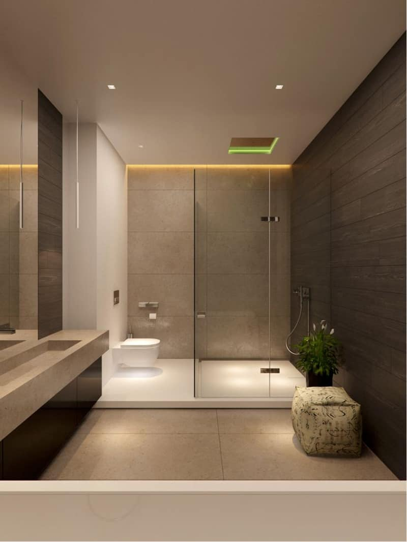 Beau ... Led Light Bathroom Designrulz (40) ...