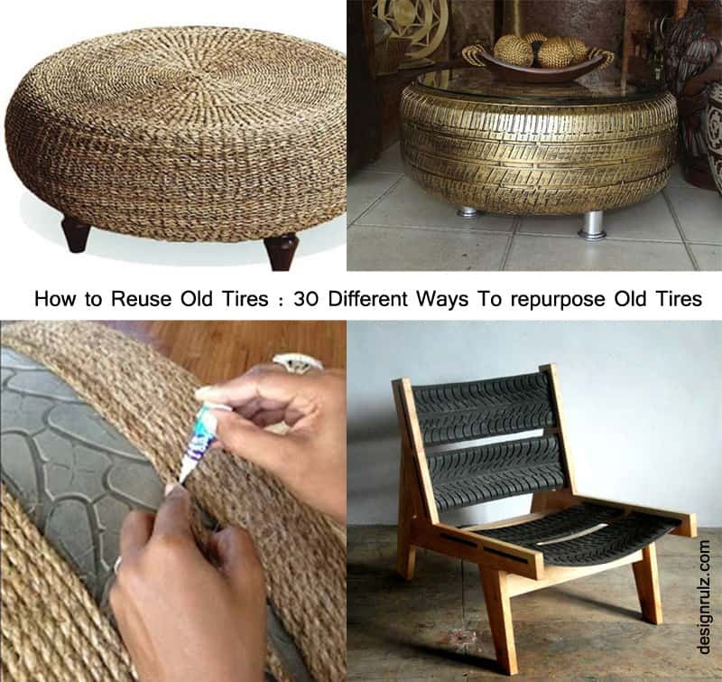 how to reuse old tires 30 different ways to repurpose