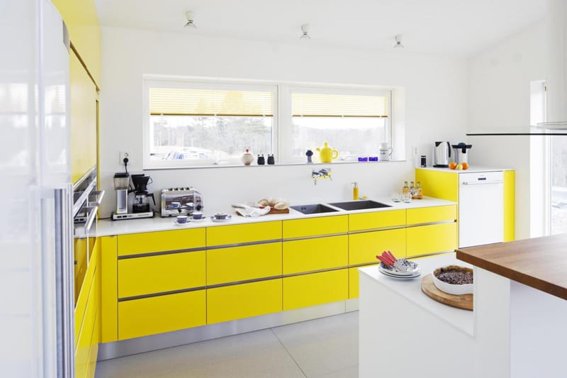 yellow kitchen -designrulz (10)