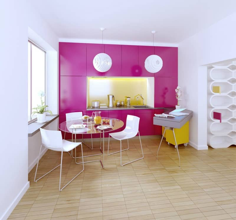 yellow kitchen -designrulz (13)