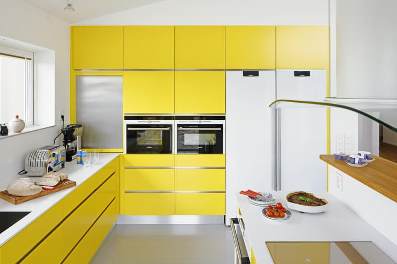 yellow kitchen -designrulz (15)