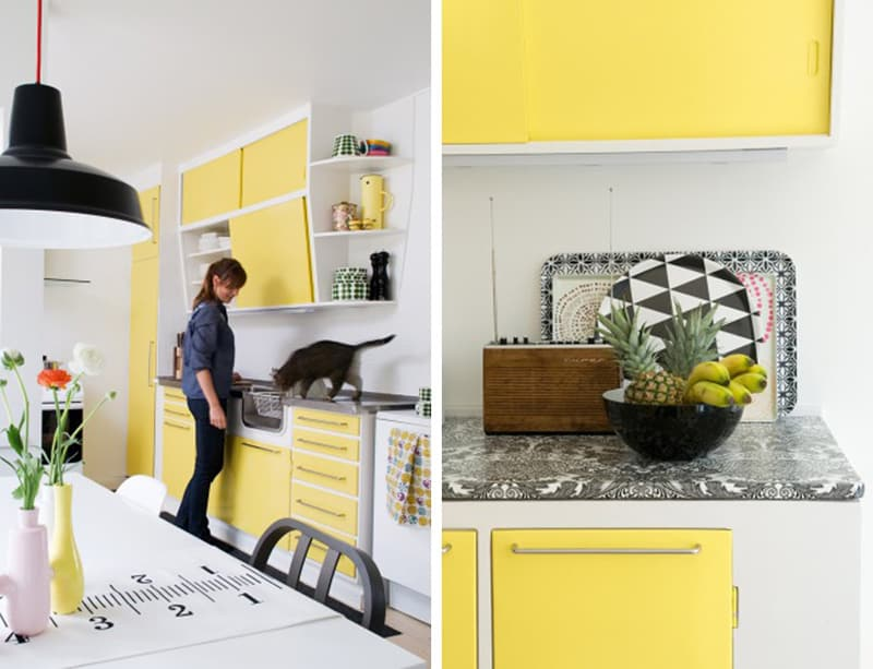 yellow kitchen -designrulz (17)