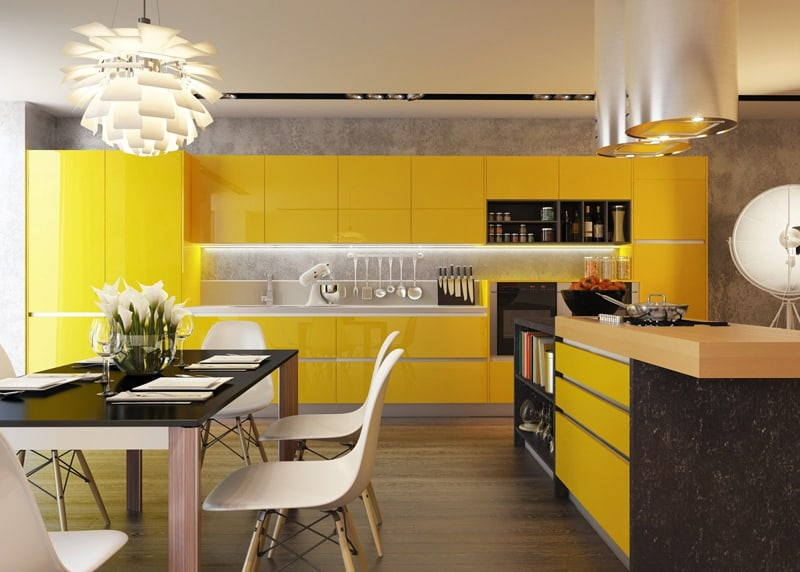 yellow kitchen -designrulz (18)