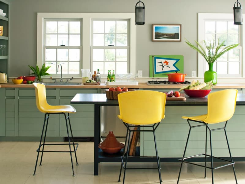 yellow kitchen -designrulz (2)