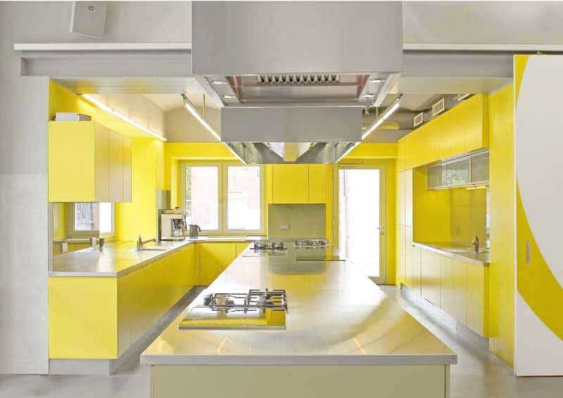 yellow kitchen -designrulz (6)