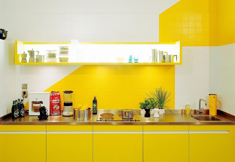 yellow kitchen -designrulz (8)