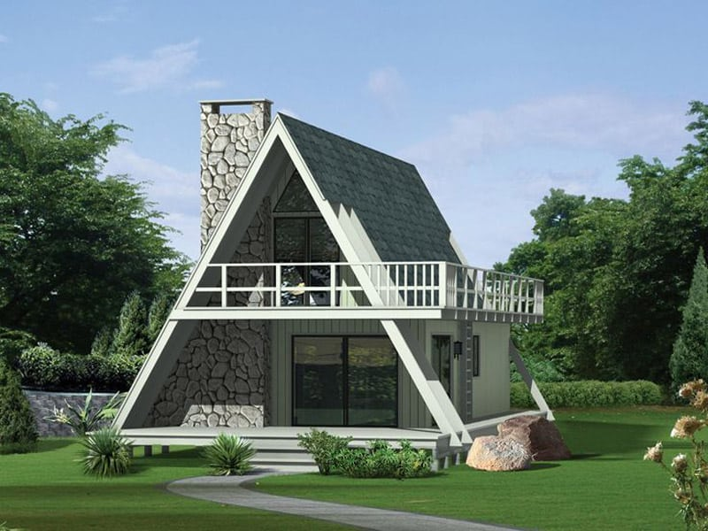 30 amazing tiny a frame houses that you 39 ll actually want for A frame house plans with attached garage