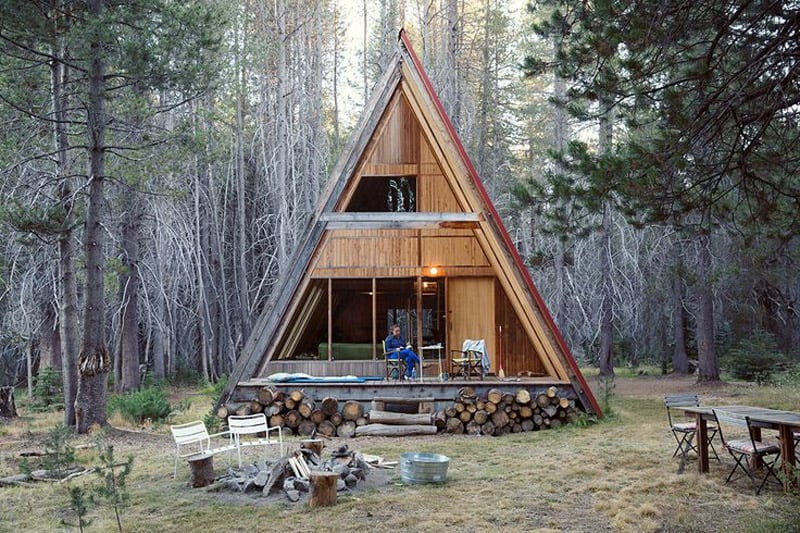 30 Amazing Tiny A-frame Houses That You\'ll Actually Want To Live in