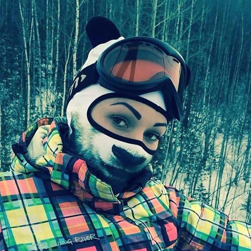 Animal Ski Masks by Teya Salat DesignRulz.com