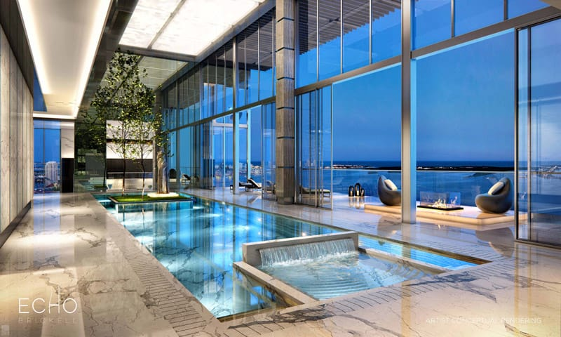 5 stunning miami beach penthouses with pool for Piscine orsole