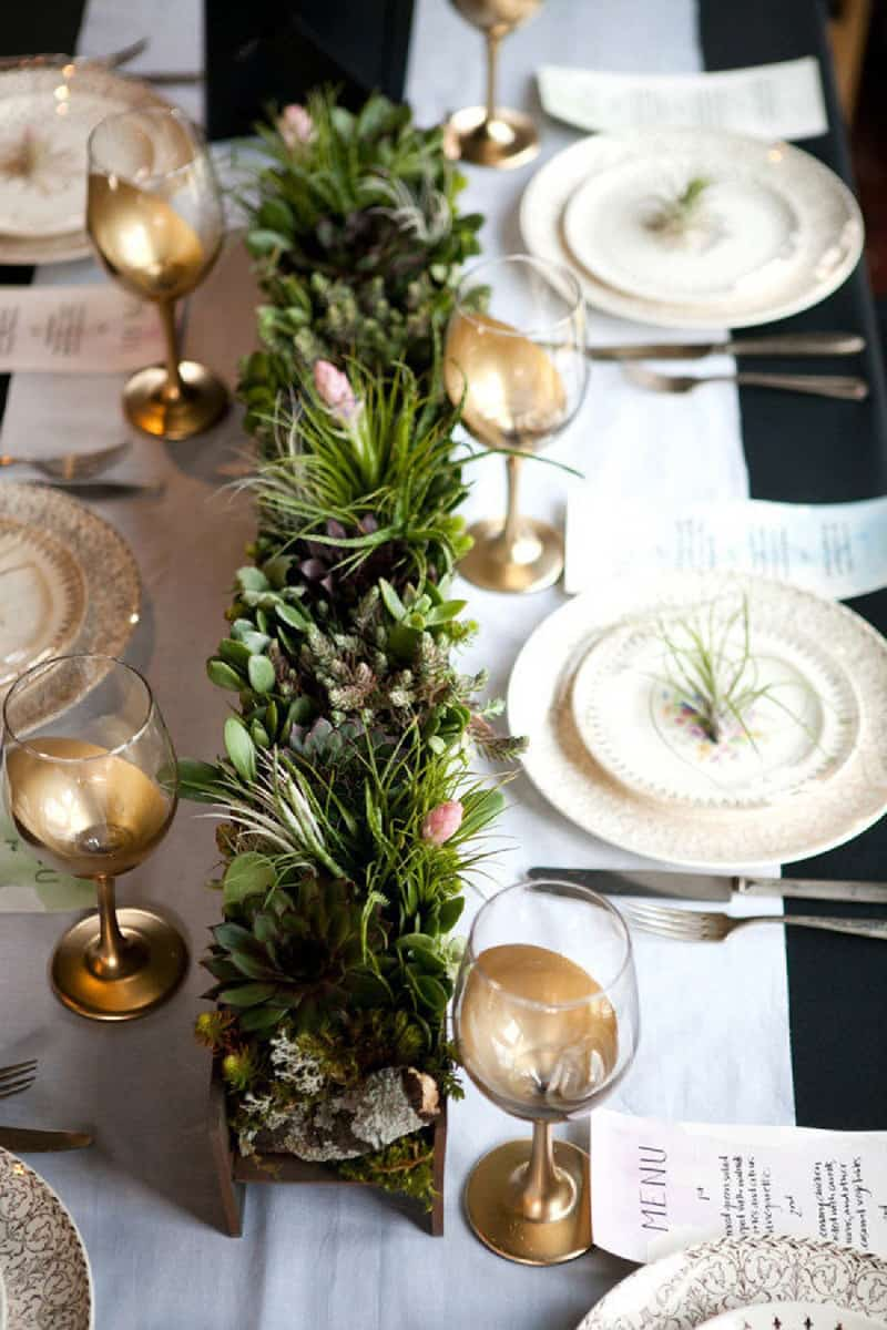 Elegant thanksgiving table decorations ideas