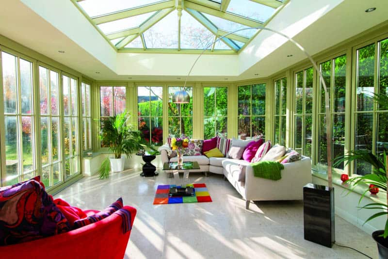35 orangeries ideas or how to choose the ideal garden room for Orangery interior design ideas