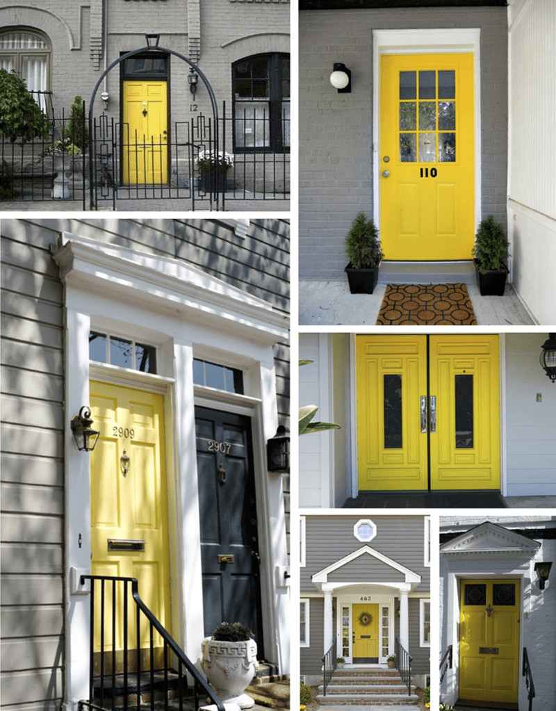 Choose the best color for your front door decor10 blog Gray front door meaning