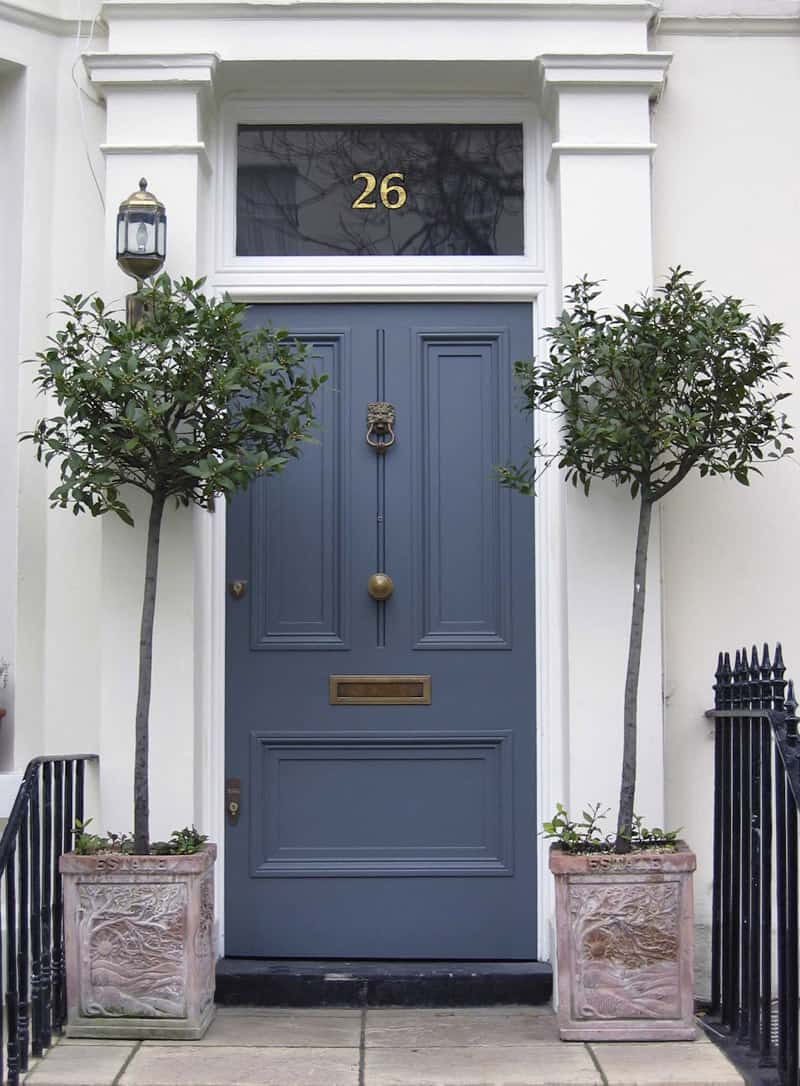 Choose the best color for your front door for House entrance doors