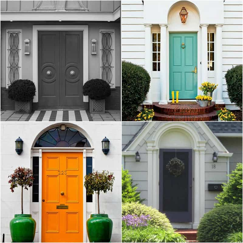 Choose The Best Color for Your Front Door! DesignRulz.com
