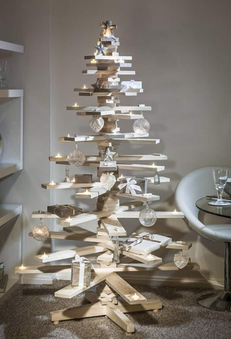 unconventional christmas tree ideas -  unconventional christmas tree ideasdesignrulz ()