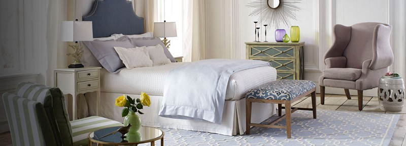 Zinus Upholstered Detailed Platform Bed with Wooden Slats-designrulz