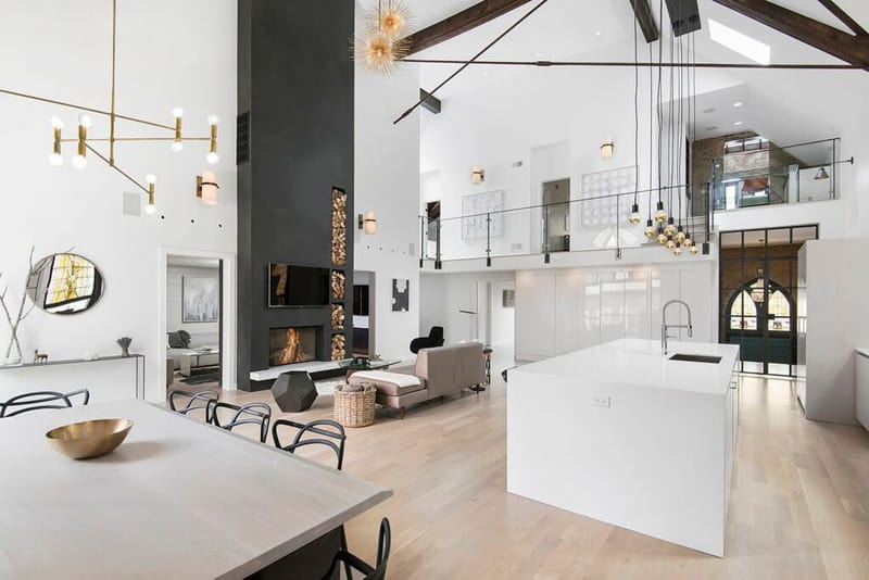 Church Conversion into a Residence by Linc Thelen Design
