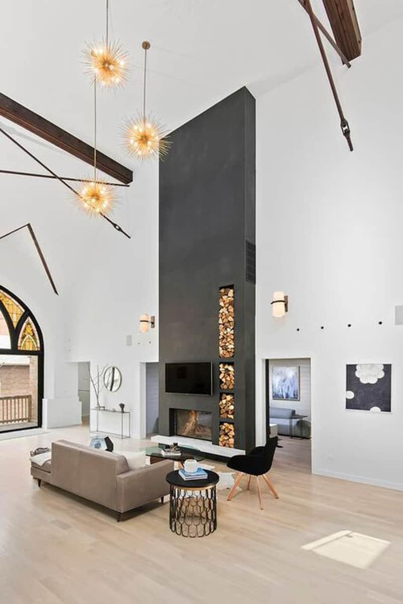 Church Conversion into a Residence by Linc Thelen Design DesignRulz.com